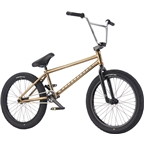 We The People Envy 20 2017 Complete BMX Bike 20.6 Top Tube Nickel ED Gold