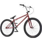 "We The People Atlas 24"" 2017 Complete BMX Bike 22 Top Tube Metallic Candy Red"