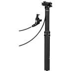 RockShox Reverb 31.6mm x 390mm Dropper Post: 125mm Travel, 1650mm Hose, Match Maker X Left, Black, B1