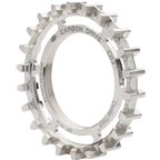Gates Carbon Drive CDX CenterTrack Rear Sprocket: 22T, Rohloff Compatible, Silver