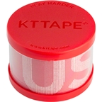 KT Tape Pro Extreme Kinesiology Therapeutic Body Tape: Roll of 20 Strips, USA Edition Rage Red