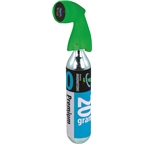 Genuine Innovations Microflate Nano Inflator: Includes 20g Threaded CO2 Cartridge