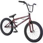 "Radio Astron FS 20"" 2017 Complete BMX Bike 20.6"" Top Tube Glossy Black/Red"