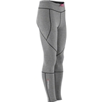 Louis Garneau Stockholm Women's Tights: Iron Gray/Pink Glow