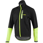 Louis Garneau Torrent RTR Men's Jacket: Black/Yellow