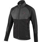 Louis Garneau Cove Hybrid Men's Jacket: Black/Gray