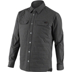 Louis Garneau Venture Shirt Men's Jacket: Asphalt Gray