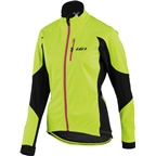 Louis Garneau LT Enerblock Women's Jacket: Yellow/Black