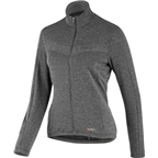 Louis Garneau Power Wool Women's Long Sleeve Jersey: Asphalt Gray