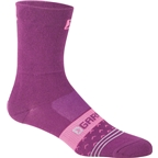 Louis Garneau Merino 60 Women's Socks: Magneta/Purple
