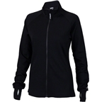 Surly Merino Wool Women's Long Sleeve Jersey: Black