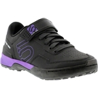 Five Ten Kestrel Lace Women's Clipless Shoe: Black Purple