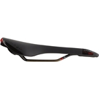 Prologo Nago Evo Space PAS Saddle, 141mm, Ti-Rox alloy rails: Hard Black