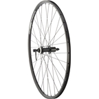 Quality Wheels Rear Wheel Rim and Disc Convenience 700c 32h Shimano TX5058 / Alex DC19 / DT Industry Black