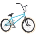 "We The People Reason Freecoaster 20"" 2017 Complete BMX Bike 20.75"" Top Tube Matte Aqua Blue"