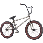 "We The People Crysis Freecoaster 20"" 2017 Complete BMX Bike 21"" Top Tube Matte Clear Raw"