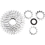 microSHIFT H10 Cassette - 10 Speed, 11-32t, Silver, Chrome Plated