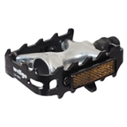 Wellgo 964 Mountain Cage Pedals 9/16, Black/silver