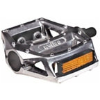 "Wellgo 313 Pedals, 1/2"" - Silver"