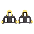 VP Components ARC SL (SPD-SL) Cleats, 7 Degree - Black/yellow