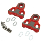 Ritchey Echelon/Keo Road Cleats, (w/ Float) Red - Pair