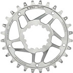 Wolf Tooth Components SST Direct Mount Drop-Stop 26T Chainring: For SRAM Cranks with Removable Spiders, Stainless Steel, 6mm Offset