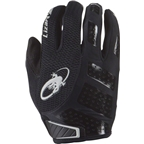 Lizard Skins Monitor SL Gloves: Jet Black