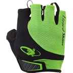 Lizard Skins Aramus Elite Gloves: Jet Black/Lime