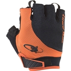 Lizard Skins Aramus Elite Gloves: Jet Black/Tangerine