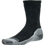 Swiftwick Pursuit Six Medium Cushion Hike Sock: Coal/White