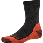 Swiftwick Pursuit Six Medium Cushion Hike Sock: Brown/Orange