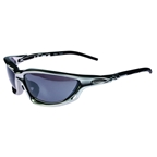 Serfas Isla Sunglasses Silver with RX Clip-In