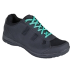 Serfas Women's New Trax Shoes - Black with 3 sets of laces