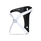Serfas Spyre Carbon Water Bottle Cage - White