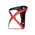 Serfas Spyre Carbon Water Bottle Cage - Red