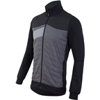 Pearl Izumi Mens Flash Insulator Jacket: Black/Smoked Pearl LG