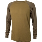 Surly Raglan Shirt: Two Tone Lichten Green