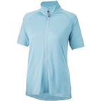 Surly Merino Lite Women's Short Sleeve Jersey: Tile Blue