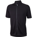Surly Merino Lite Men's Short Sleeve Jersey: Black