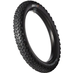 "45NRTH Dillinger 4 Studded Fatbike Tire: 26 x 4"" 240 concave studs Tubeless Ready Folding 120tpi, Black"