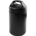GSI Outdoors Glacier Stainless Tiffin Vacuum Food Container: 14oz Black