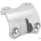 Thomson Replacement X4 Stem Faceplate: Bar Clamp 31.8 Silver