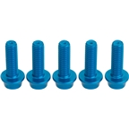 Dimension Teal Anodized Bolts M5x.8 16mm