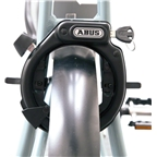 ABUS LH Adaptor Frame Lock Tightening Straps, Black
