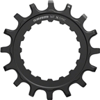 SRAM Chainring X-Sync EX1 Sprocket for Bosch Motors 16T Straight Steel Black