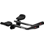 Profile Design T4 Plus Carbon Aerobar with J5 Bracket and F-40T Armrest: Matte Black