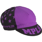 All-City Let's Go Crazy Cycling Cap: Purple One Size