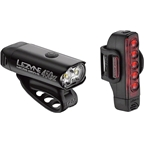 Lezyne Micro Drive XL 450/Strip Light Set Black