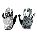 Answer Clash Full Finger Glove: Black/Gray