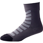 Seal Skinz Thin Mid Hydrostop Sock: Black